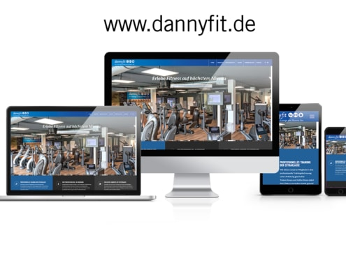 WordPress Website dannyfit