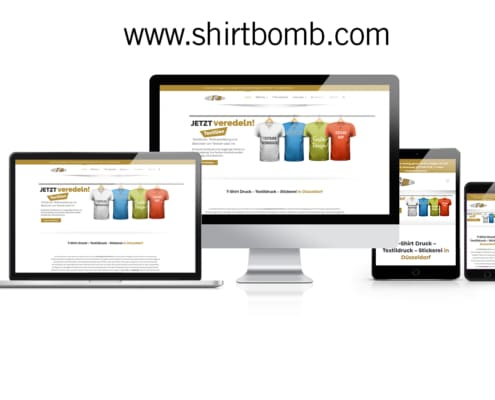WooCommerce Online-Shop Shirtbomb