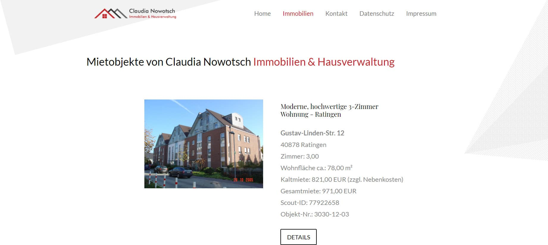 Immobilien – Nowotsch Immobilien und Hausverwaltung