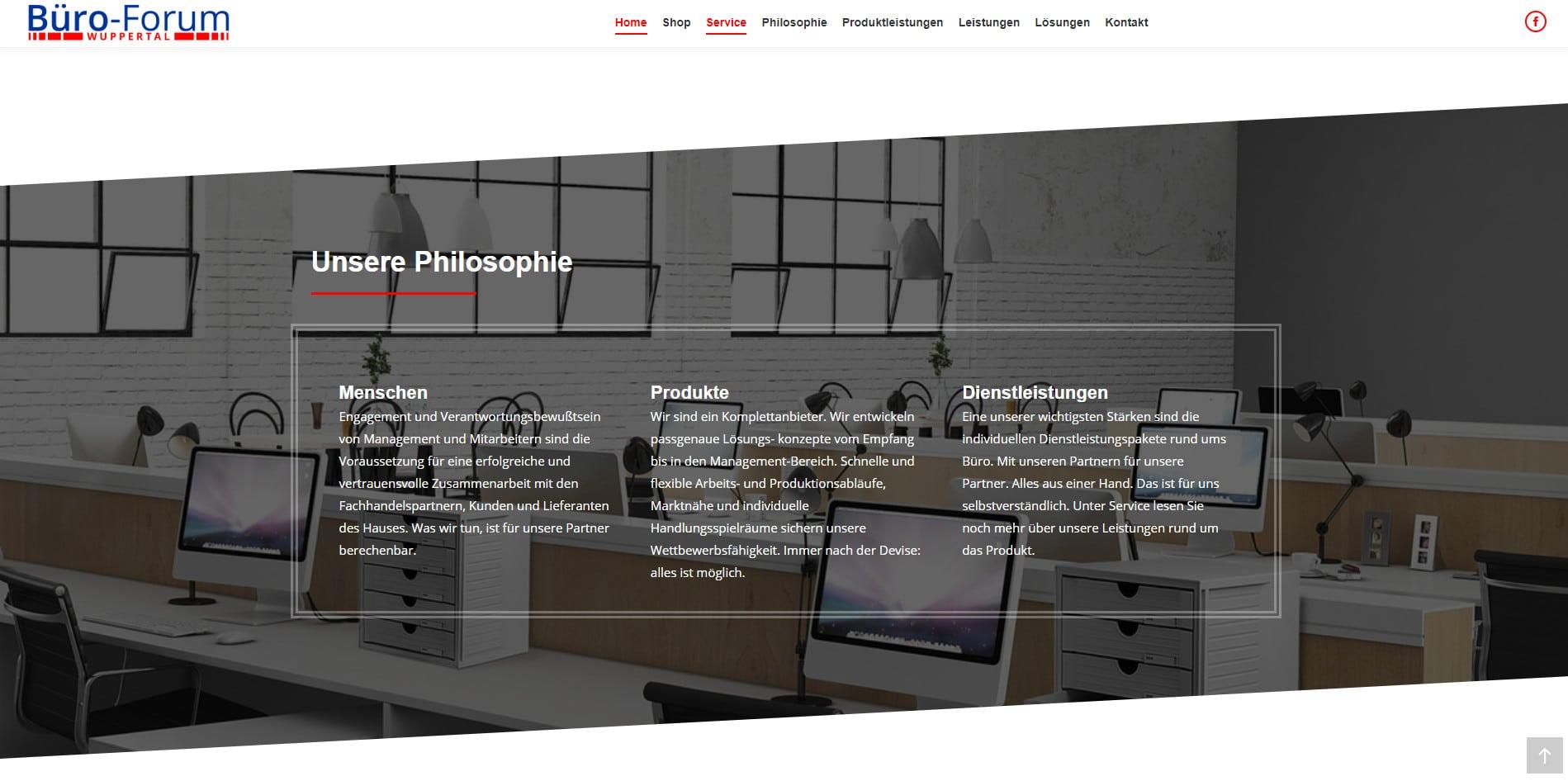 Büro-Forum Wuppertal WordPress