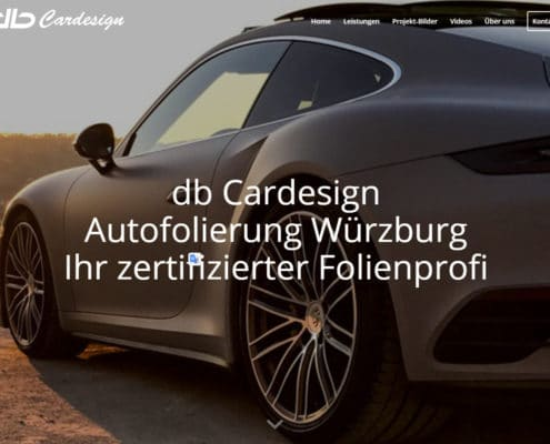 WordPress Website db Cardesign