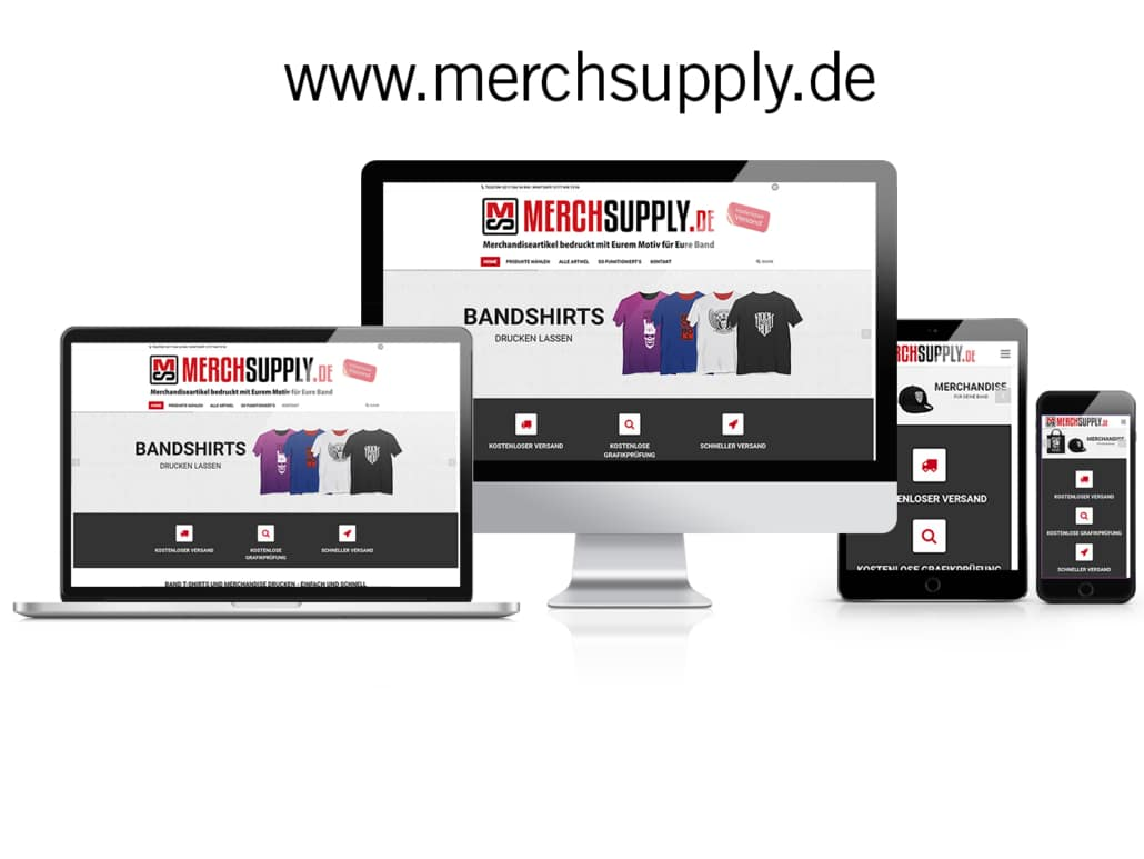 WooCommerce Online-Shop MERCHSUPPLY