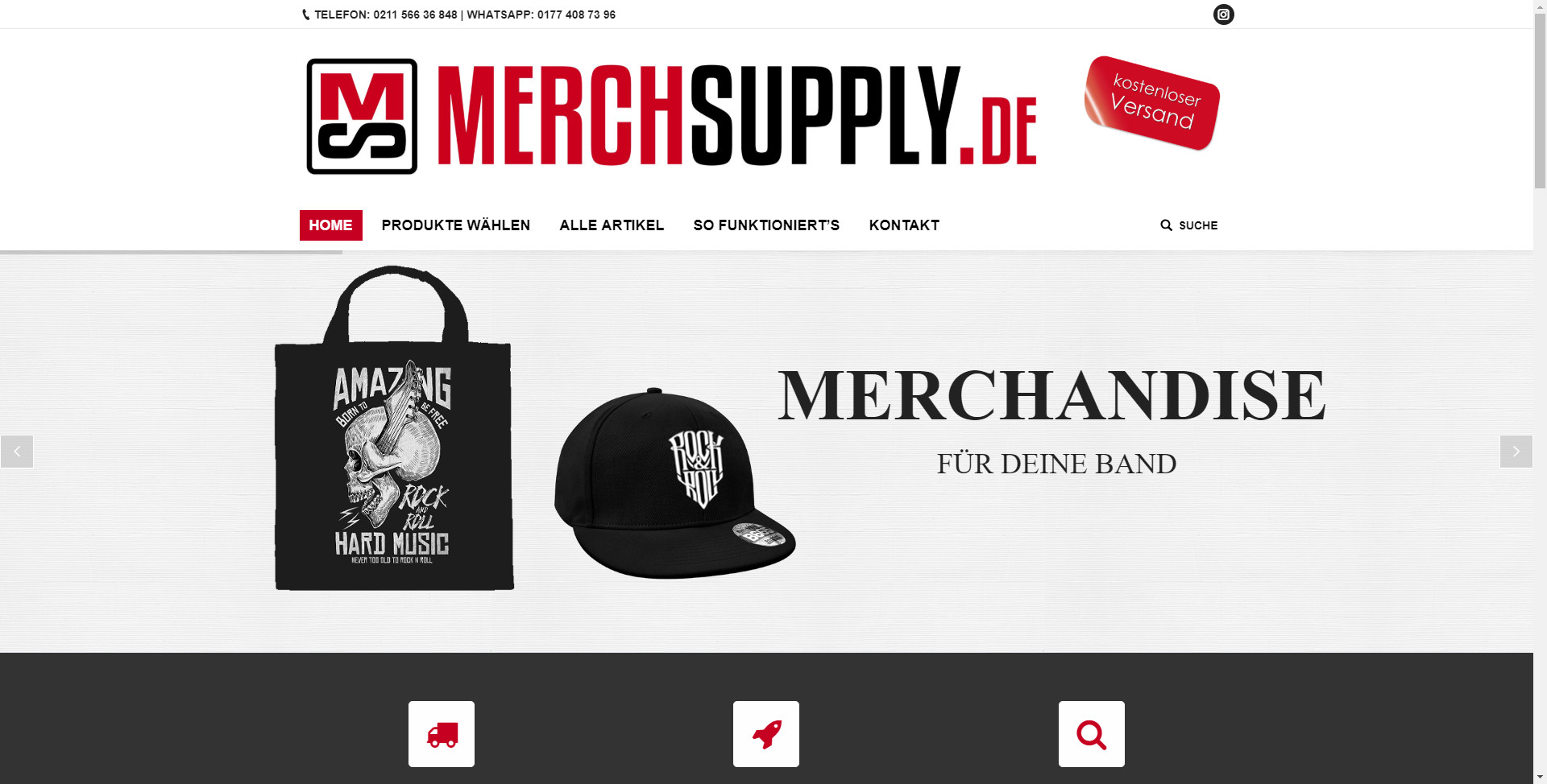 WooCommerce Shop MERCHSUPPLY